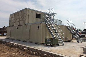 George Seehaver Welding and Fabrication container building