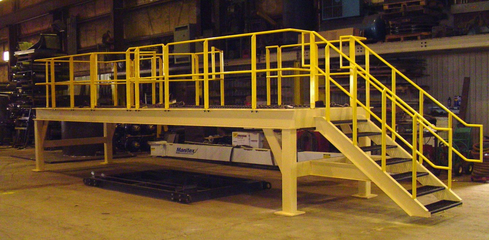 George Seehaver Welding and Fabrication Ancam Platform