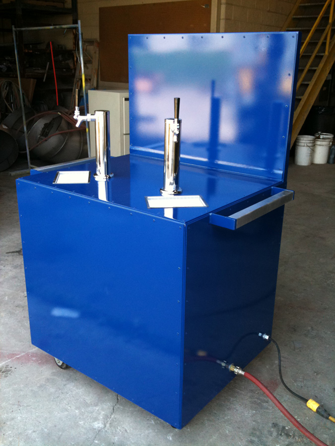George Seehaver Welding and Fabrication Water Bar Fabrication