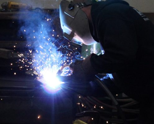 George Seehaver Welding and Fabrication welder welding